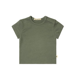 Your Wishes Your Wishes Solid Loose Tee Green