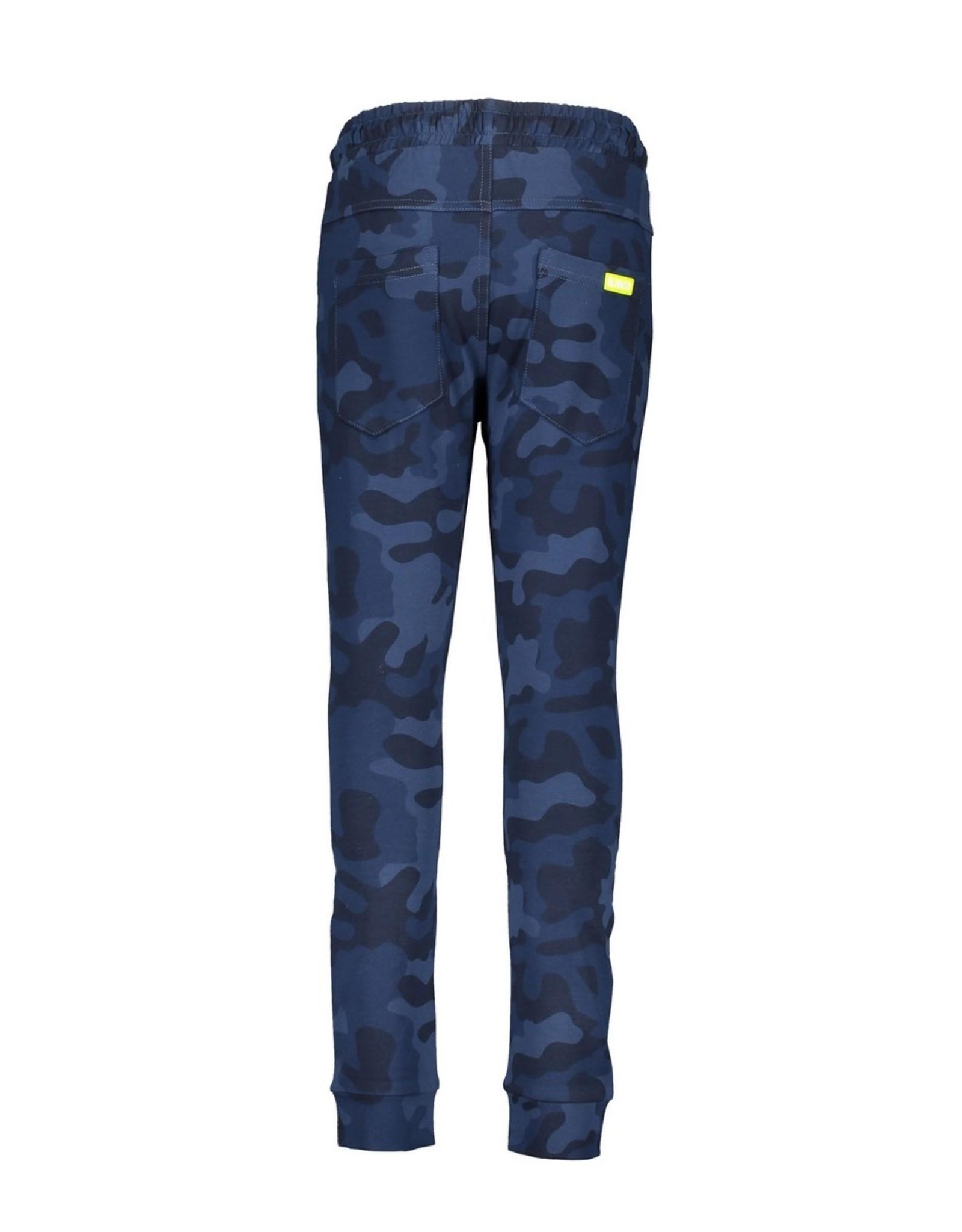 B.Nosy B.Nosy Boys all over print Camo Sweat Pants Space Blue