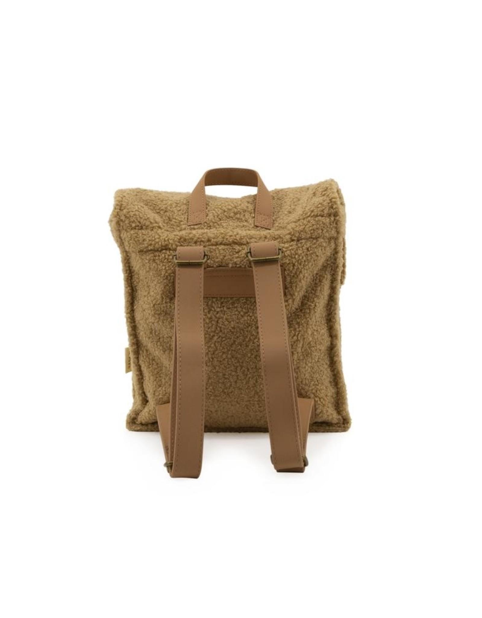 Nanami Nanami Teddy Backpack Sand