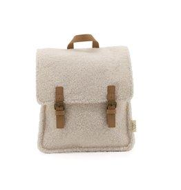 Nanami Nanami Teddy Backpack Off-white