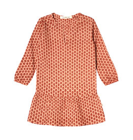 Your Wishes Your Wishes Broderie Terra Tunic Dress Peach