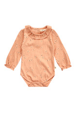 Your Wishes Your Wishes Dragonfly Balloon Romper Peach