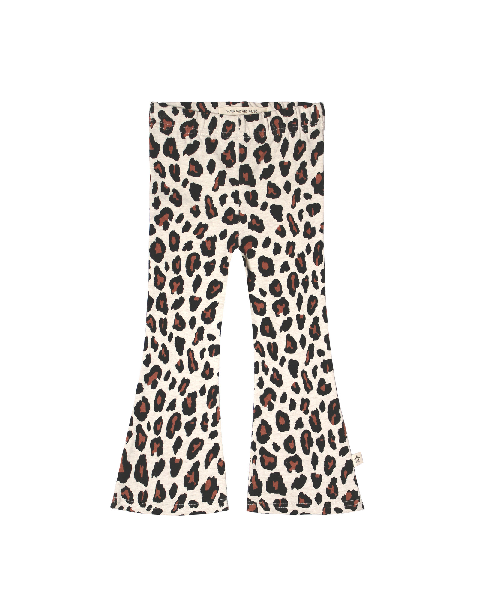 Your Wishes Your Wishes Leopard Flared Legging Terra