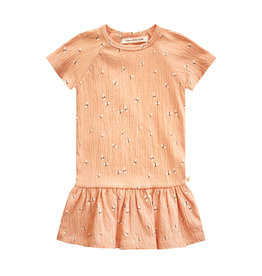 Your Wishes Your Wishes Dragonfly SS Shift Dress Peach