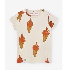 Nadadelazos Nadadelazos T-shirt Strawberry Ice Cream