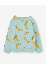 Nadadelazos Nadadelazos Hoodie Banana Friends Turquoise