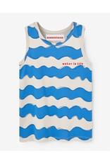 Nadadelazos Nadadelazos T-shirt Waves Beige