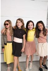 Like Flo Like Flo Girls Rose Gold Plisse Skirt