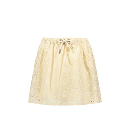 Like Flo Like Flo Girls Broidery Anglais Skirt Sand