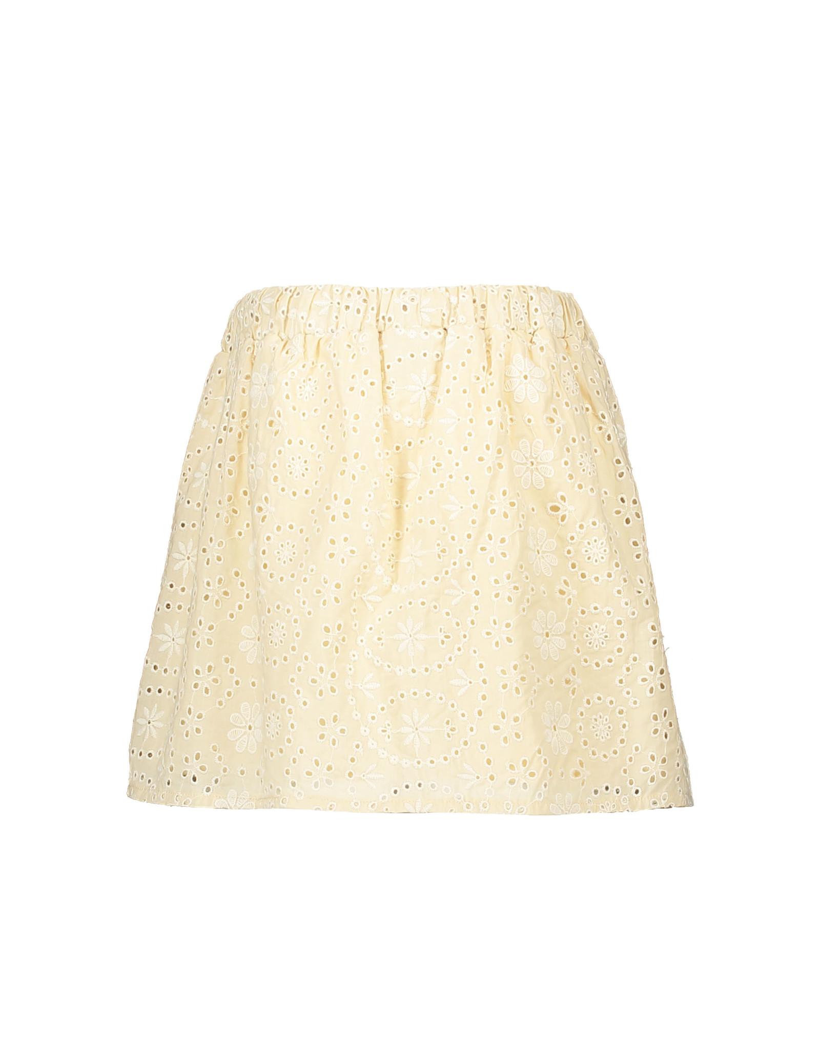 Like Flo Like Flo Girls Broidery Anglais Skirt Sand
