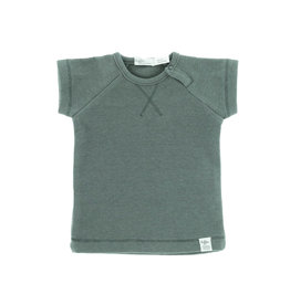 Riffle Amsterdam Riffle Amsterdam T-shirt Rib short sleeve Grey