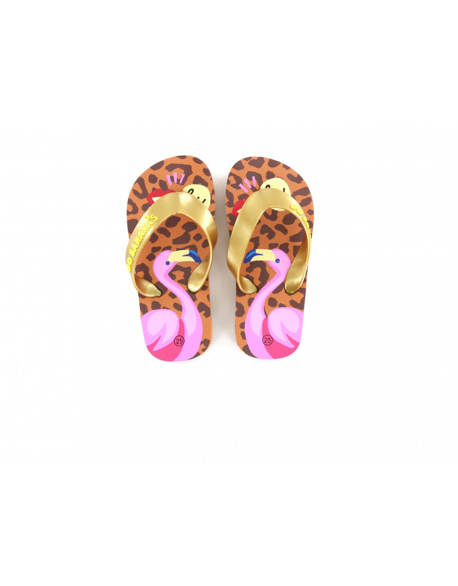 GO BANANA'S GO BANANA'S Flamingo Slipper Leopard Pink