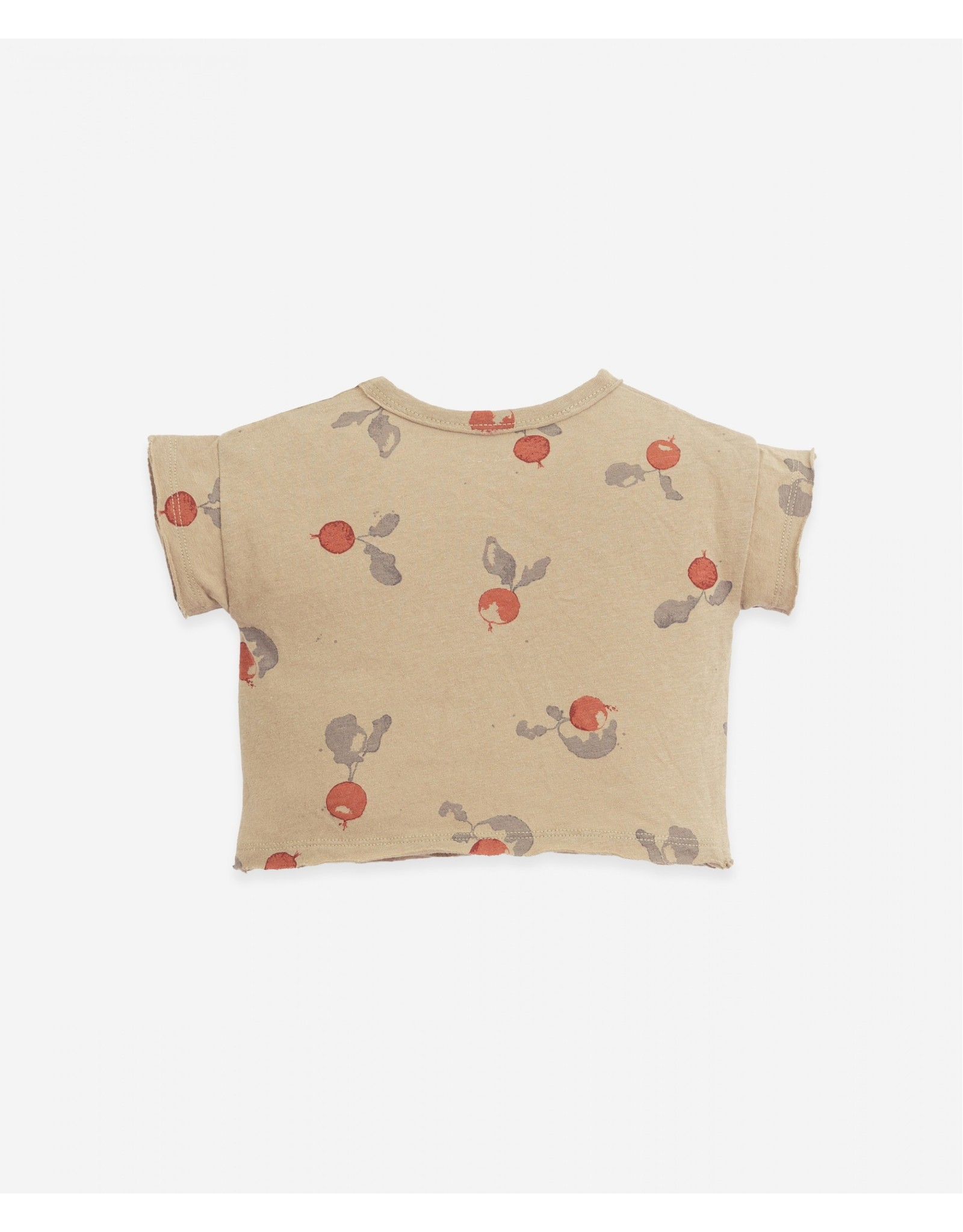 Play Up Play Up T-shirt with large pocket Botany João