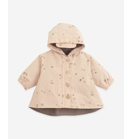 Play Up Play Up Twill jacket with print Botany Egg