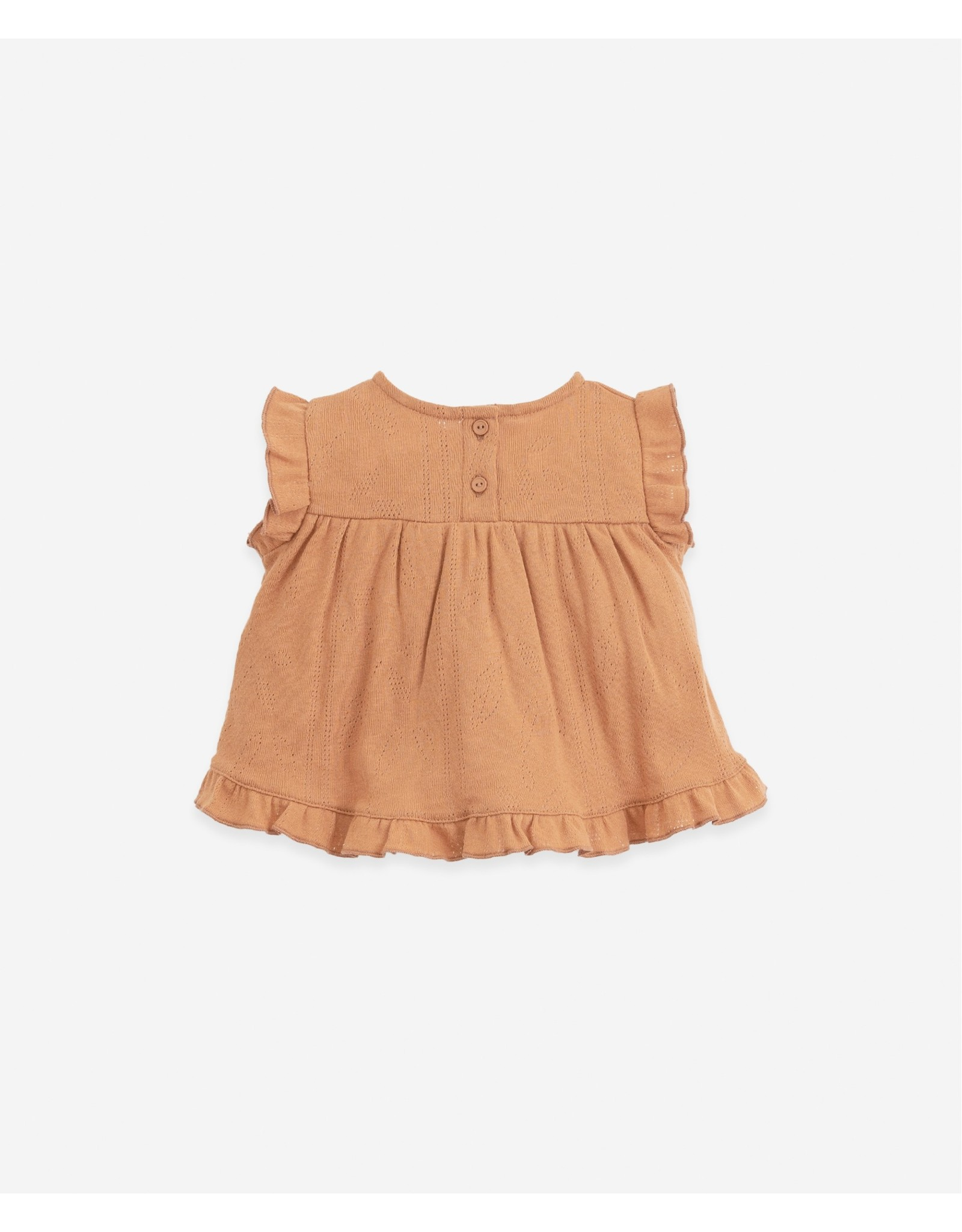 Play Up Play Up T-shirt with frill on the back Botany Raquel