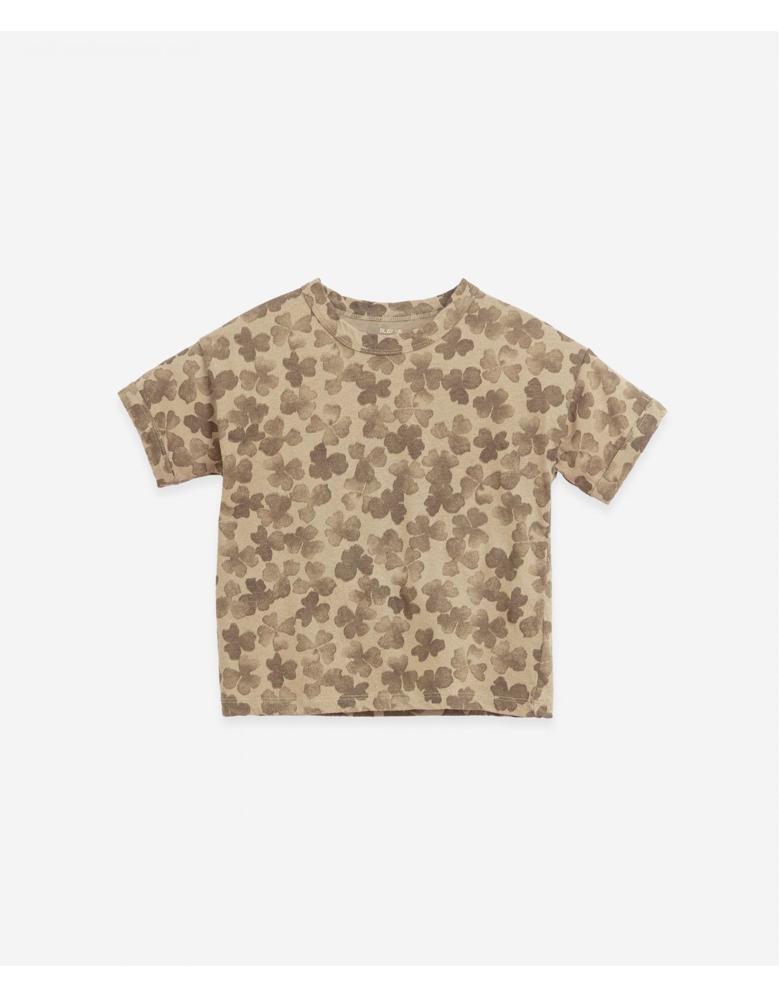 Play Up Play Up T-shirt with clover print Woodwork João