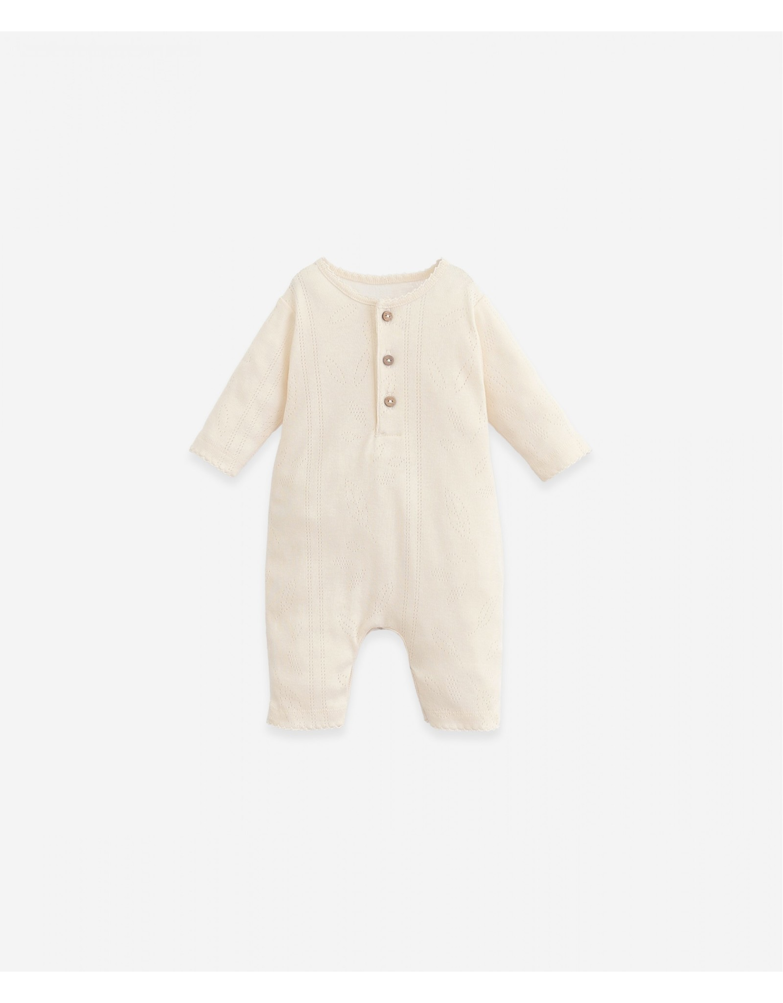 Play Up Play Up Jumpsuit with lace details Botany Dandelion