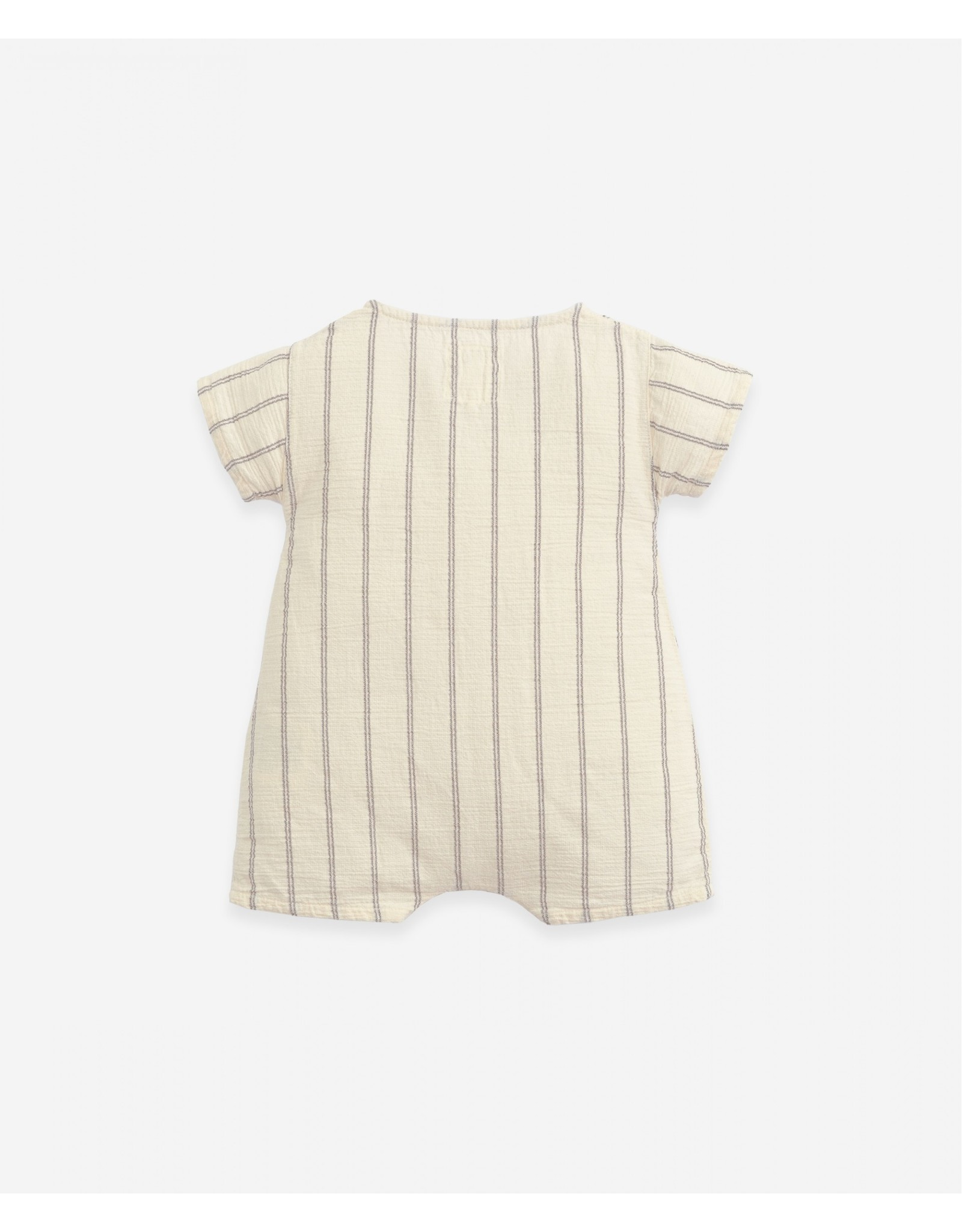 Play Up Play Up Striped Woven Jumpsuit Dandelion