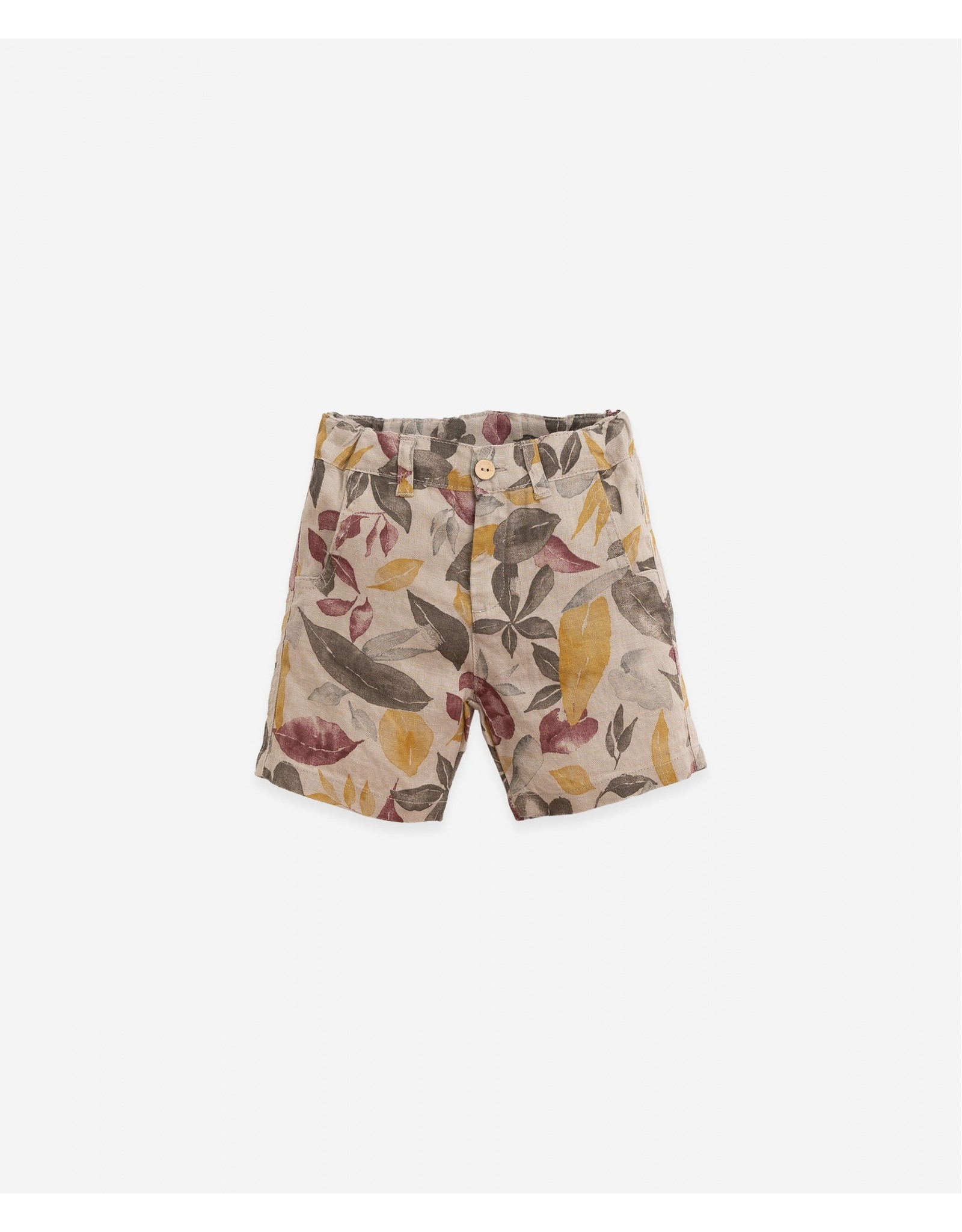 Play Up Play Up Shorts with leaf print Botany Bicho