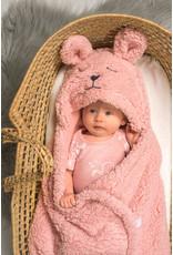 Jollein Jollein Wikkeldeken Bunny Pale Pink