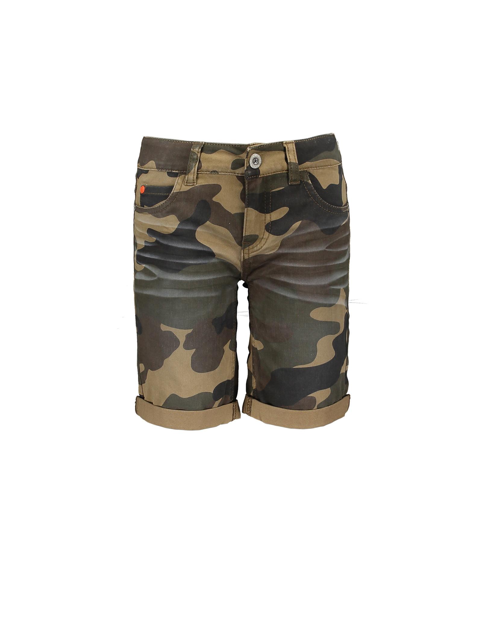 TYGO & Vito TYGO & Vito Stretch Twill Short all over Camouflage Army
