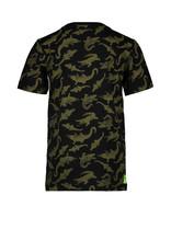 TYGO & Vito TYGO & Vito T-shirt all over Crocodile Black