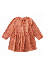 Your Wishes Your Wishes Broderie Terra Tunic Dress Woman Peach