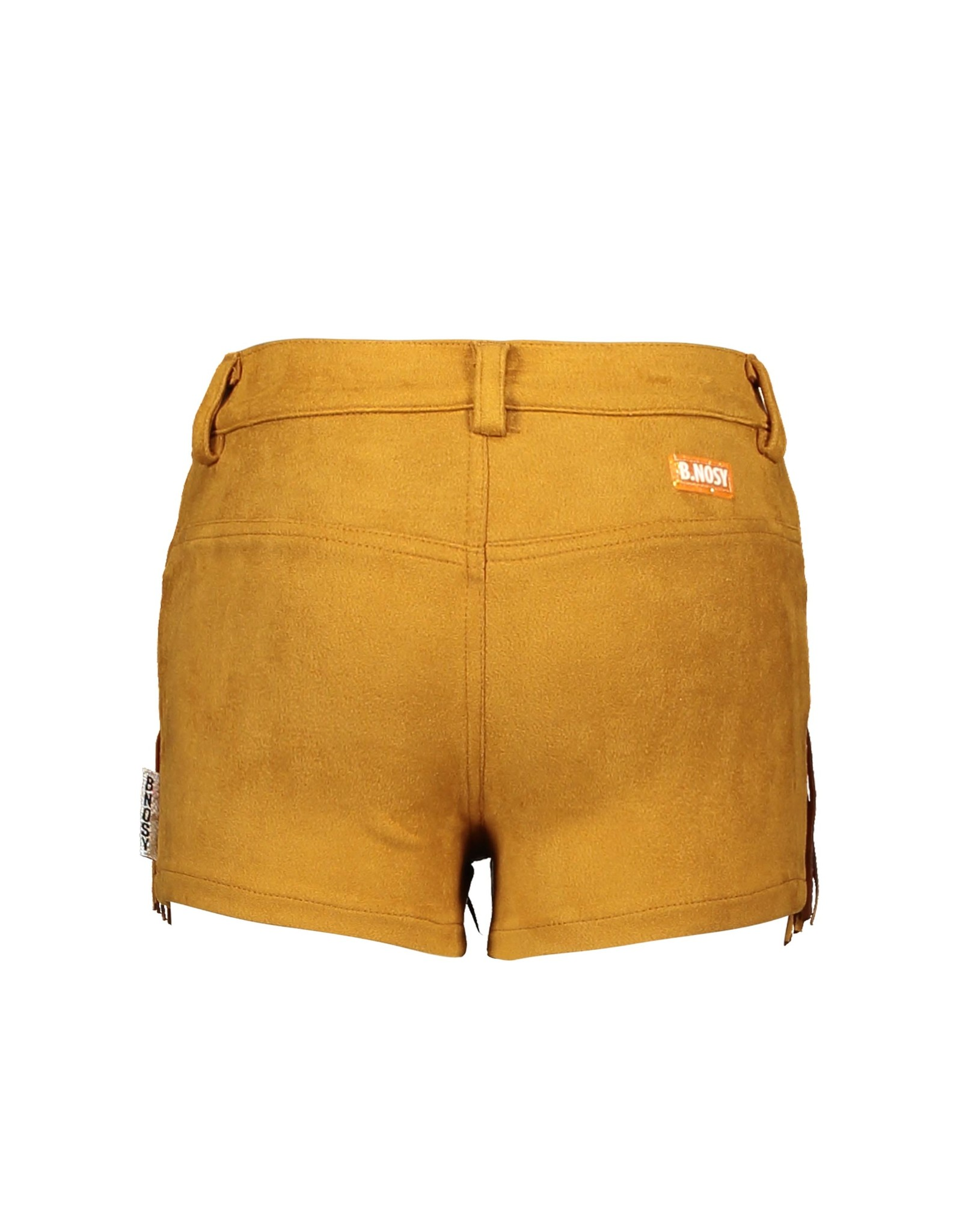 B.Nosy B.Nosy Girls fake Suede Shorts Melee Print Mustard