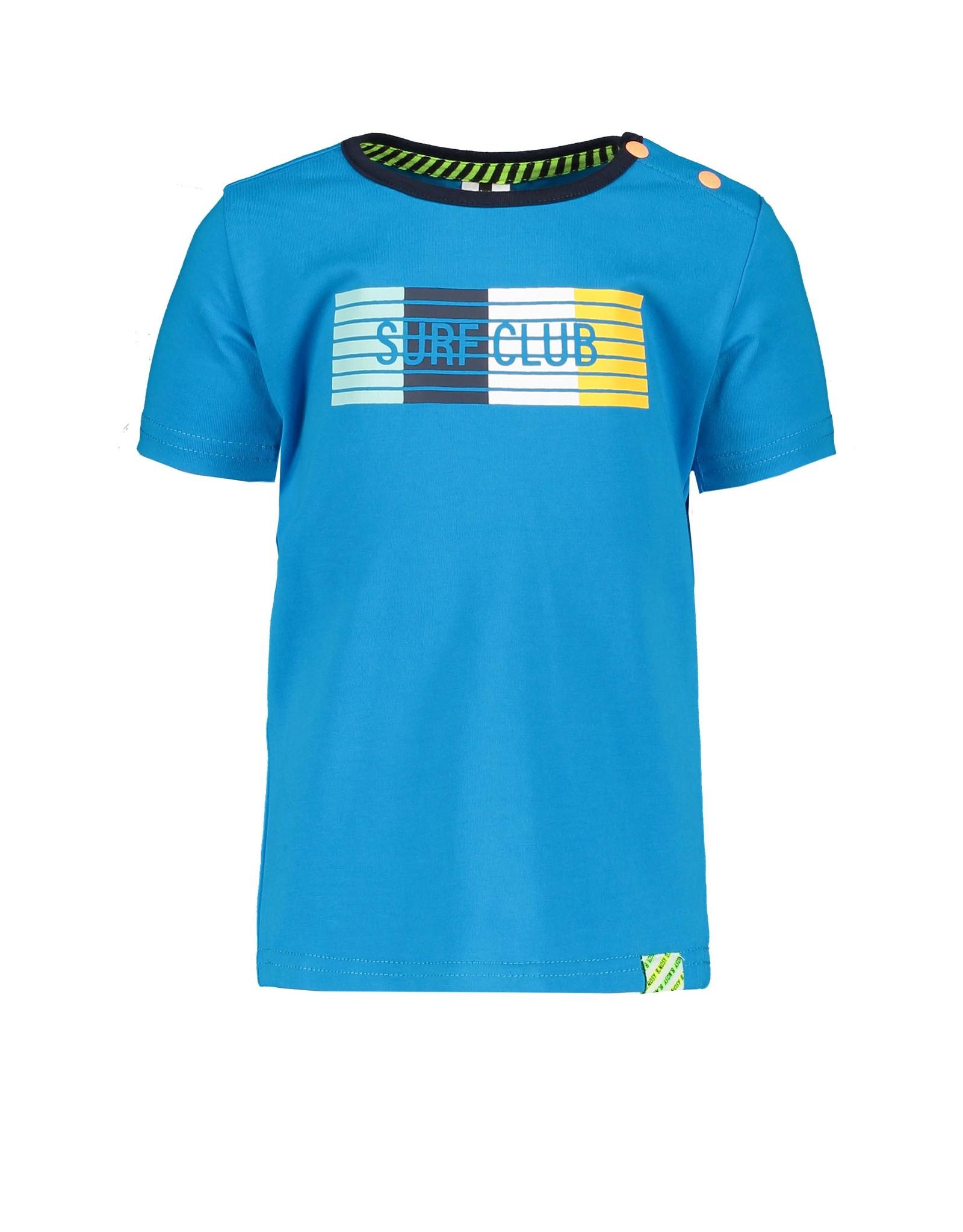B.Nosy B.Nosy Baby Boys T-shirt With Print Surf Blue