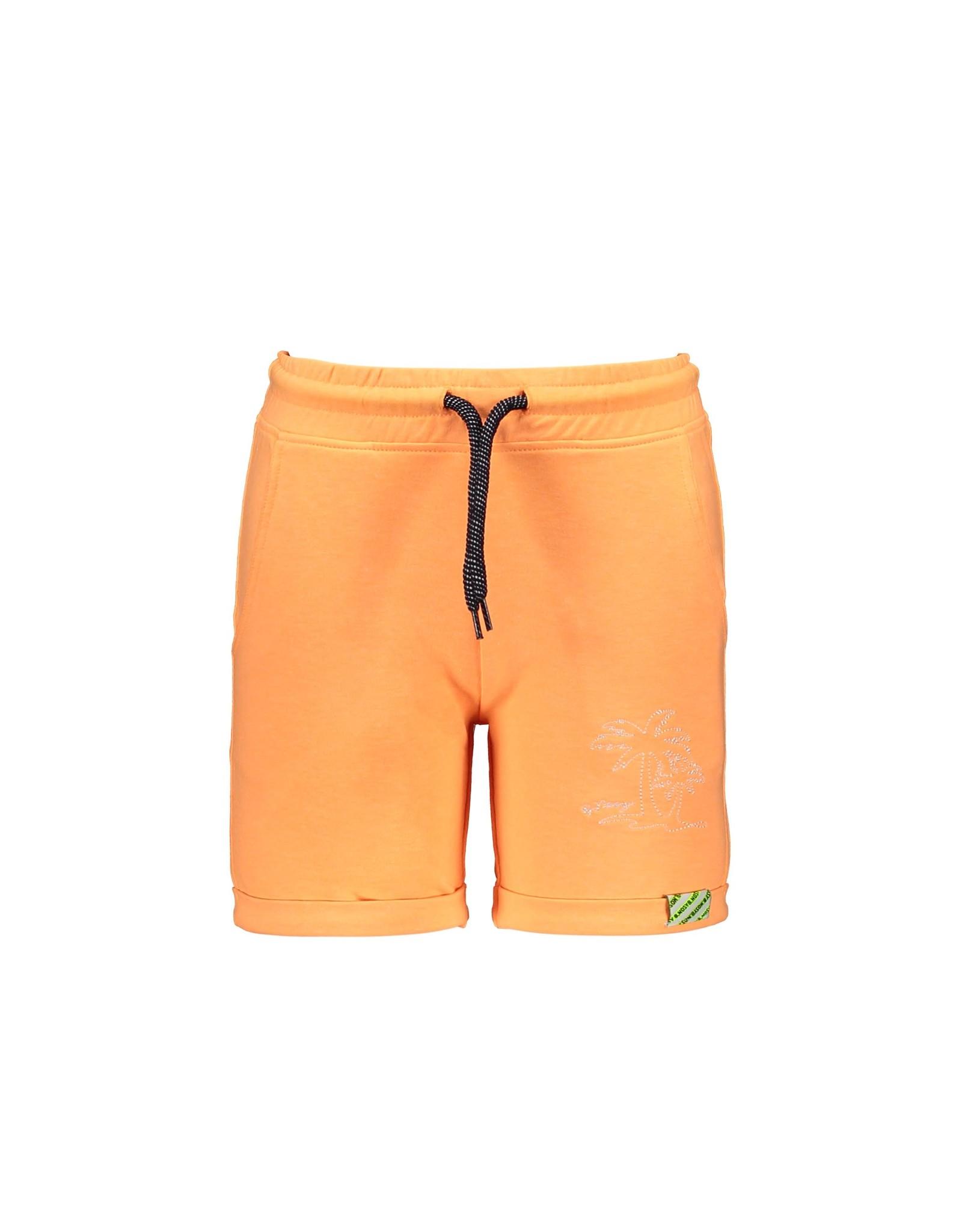 B.Nosy B.Nosy Baby Boys Uni Short With Folded Hem Neon Orange
