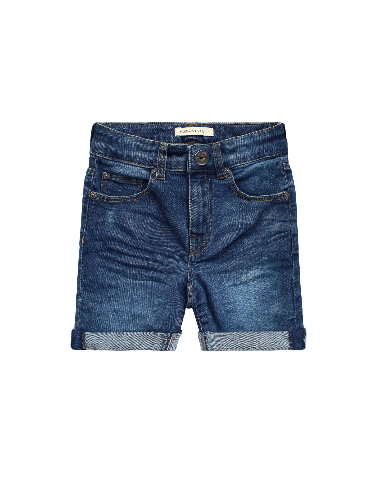 Your Wishes Your Wishes Denim Shorts Medium Blue