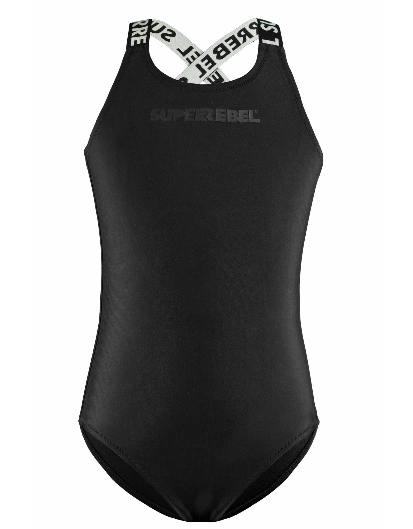Super Rebel SuperRebel Bathing Suit Black