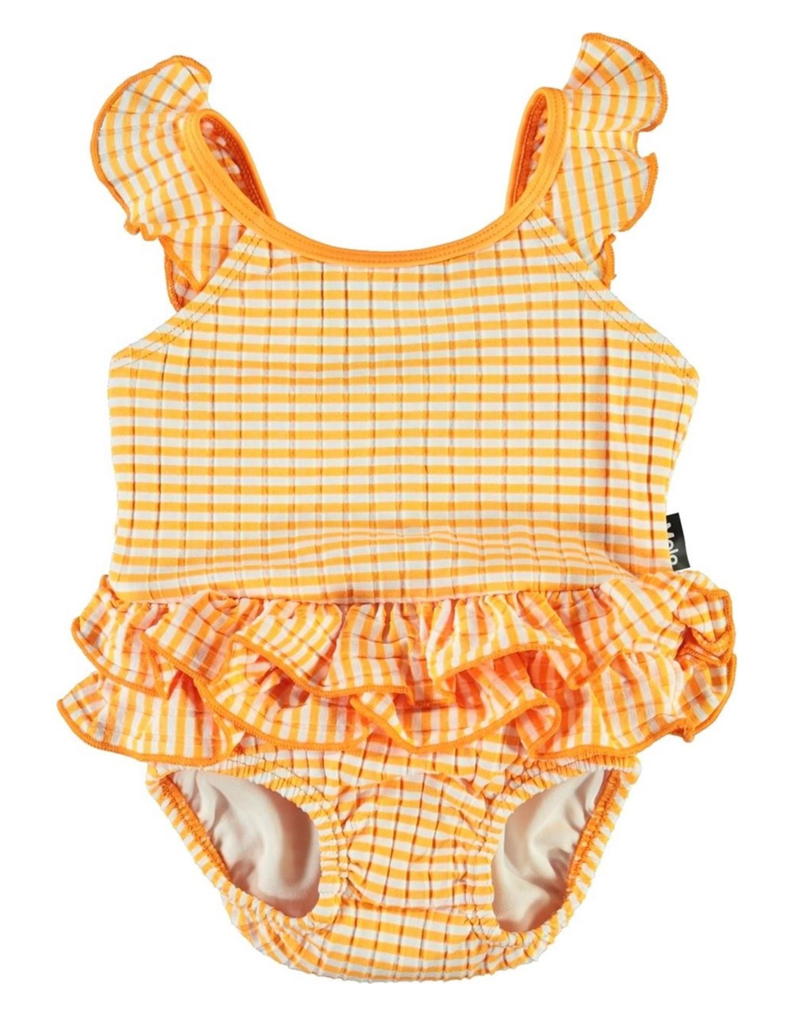 Molo Molo Badpak Nalani Orange Stripe