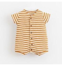 Play Up Play Up Babygrow Playsuit Dandelion Stripe