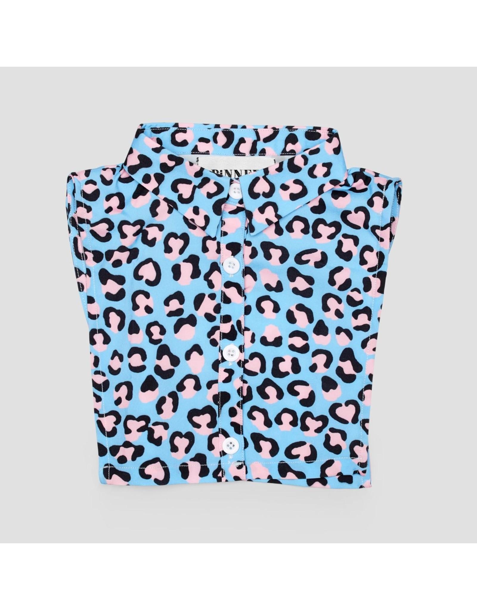 Pinned by K Pinned by K Collar Kids Leopard Pink Blue