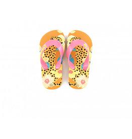 GO BANANA'S GO BANANA'S Leopard Leo Slipper Crema