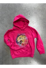 Pinned by K Pinned by K Hoodie Kids Use Your Voice Pink