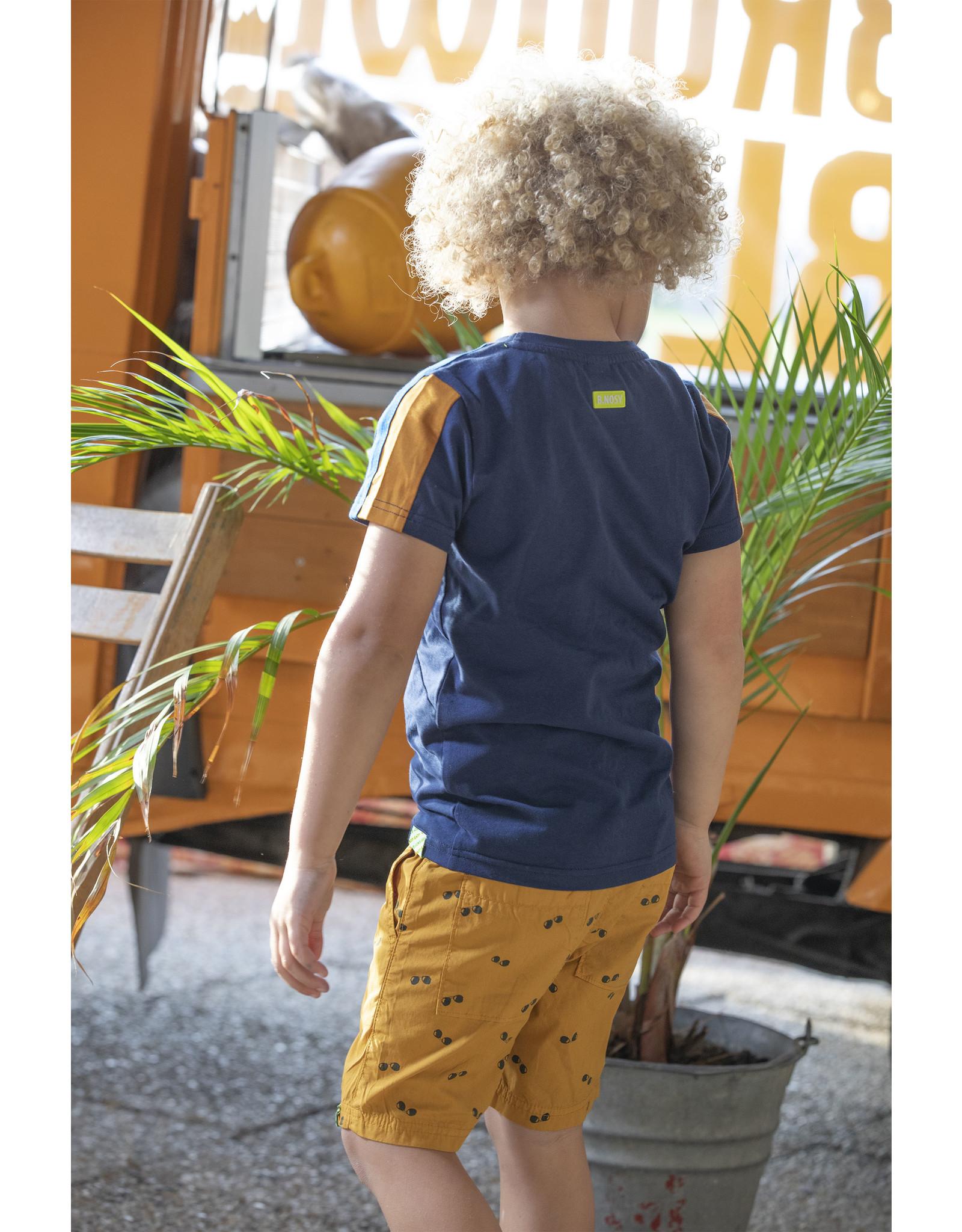 B.Nosy B.Nosy Boys Short Poplin Mustard
