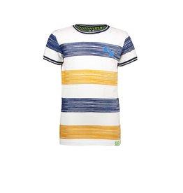 B.Nosy B.Nosy Boys Shirt With Printed Stripe Mustard