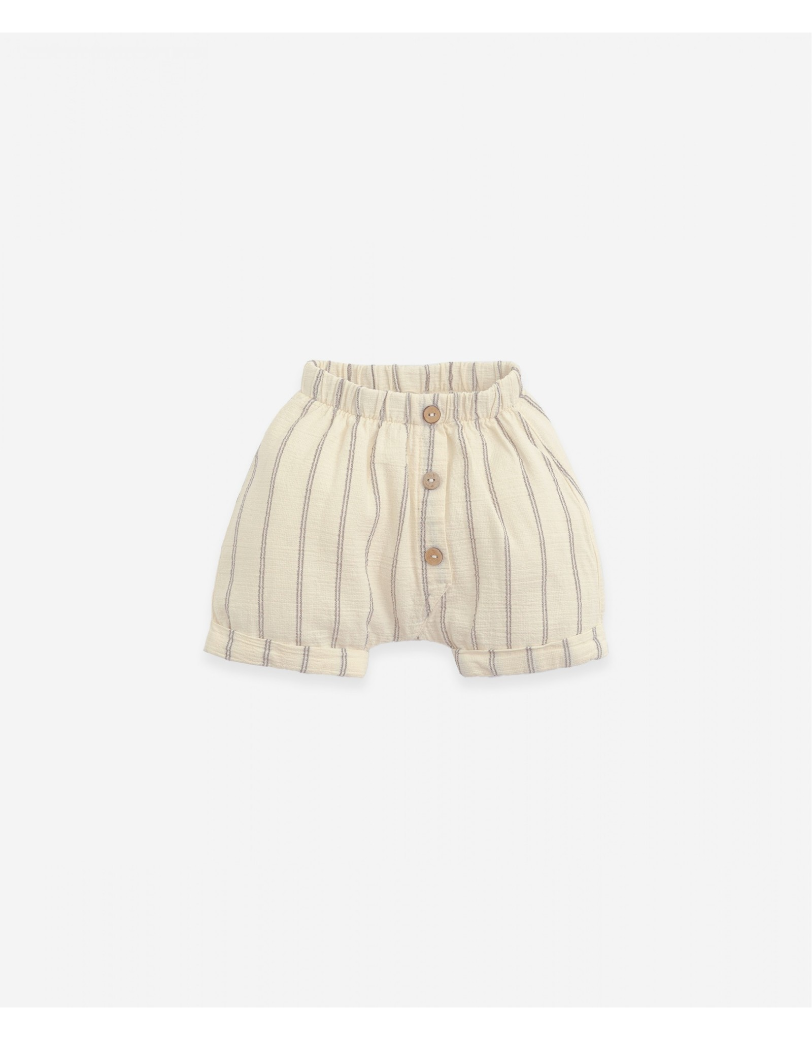 Play Up Play Up Shorts With Decorative Buttons Botany