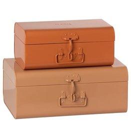 Maileg Maileg Storage Suitcase Set Powder/Rose