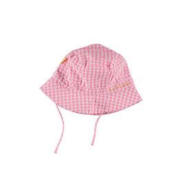 BESS Bess Sun Hat Vichy Pink Size One