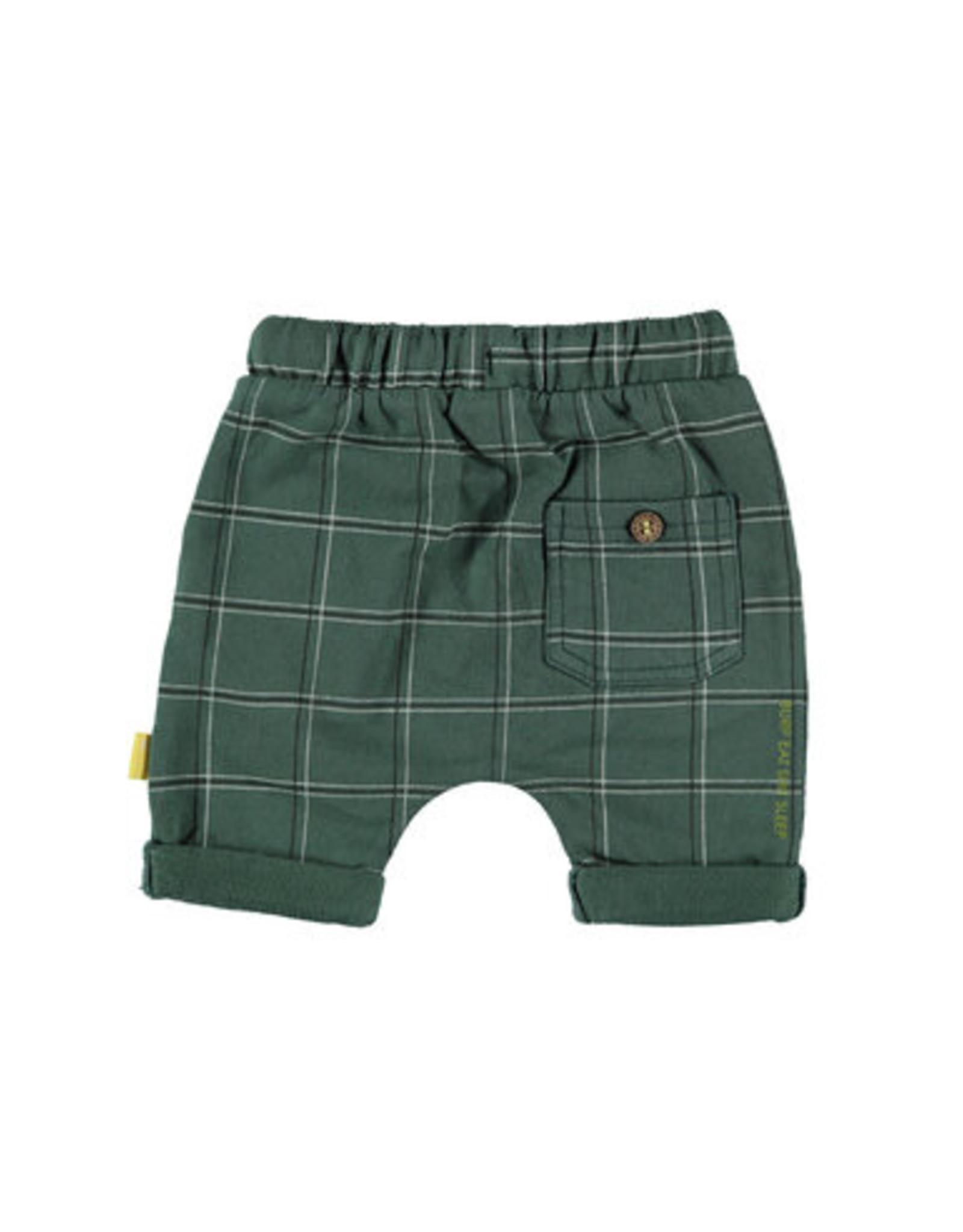 BESS Bess Shorts Check Green