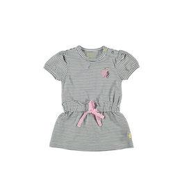 BESS Bess Dress short sleeve Striped White