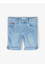 Name IT Name It Long Shorts Light Blue Denim