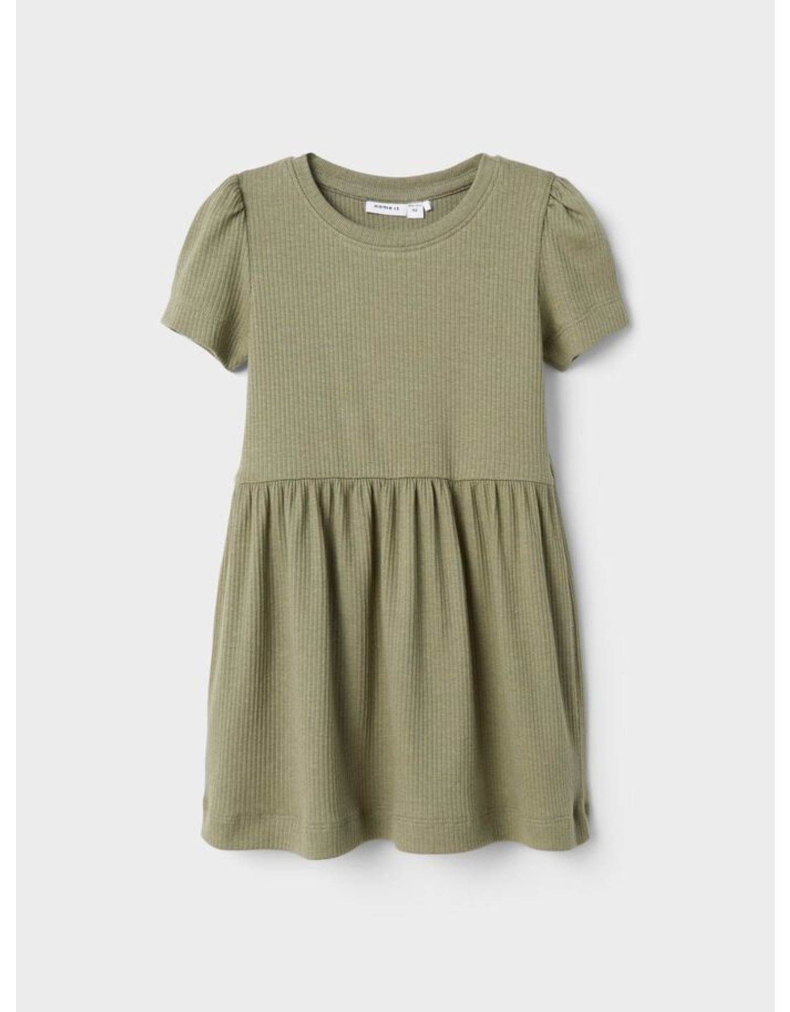 Name IT Name It SS Dress Deep Lichen Green
