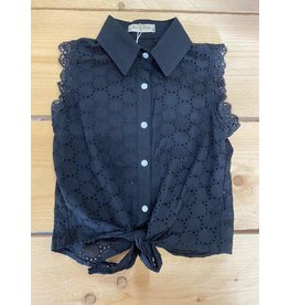 Top Knotted Black