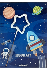 Wondercandle Wondercandle Mini Wondercard Space Hooray