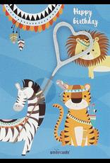 Wondercandle Wondercandle Mini Wondercard Animal Parade