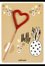 Wondercandle Wondercandle Mini Wondercard Hello Ananas unicorn
